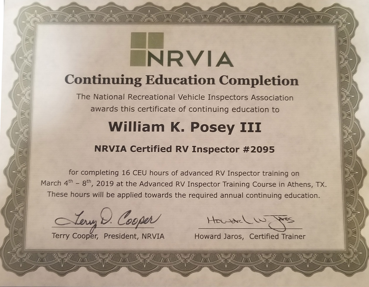 Cert-Continuing-Education-Bill-Posey